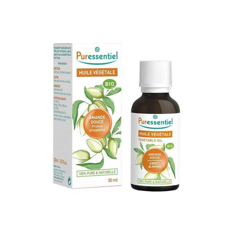 Puressentiel huile végétale bio amande douce 30ml