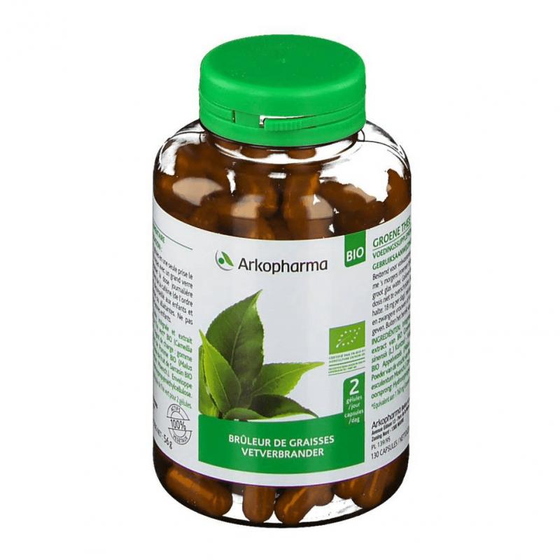 Arkopharma arkogélules thé vert 130 gélules