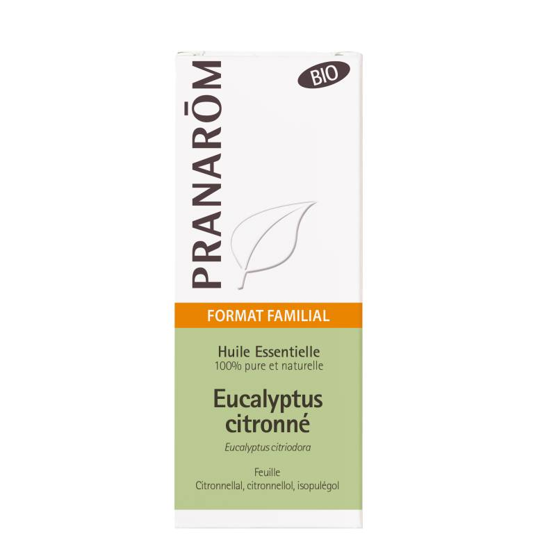 Pranarom Pranarôm huile essentielle eucalyptus citronne bio 30ml