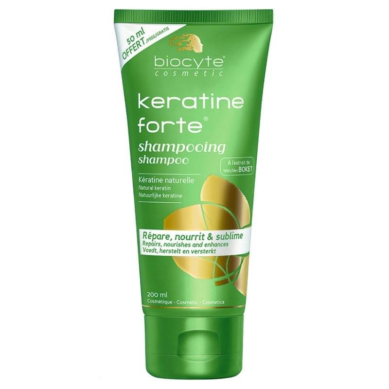 Biocyte keratine forte shampoing 200 ml