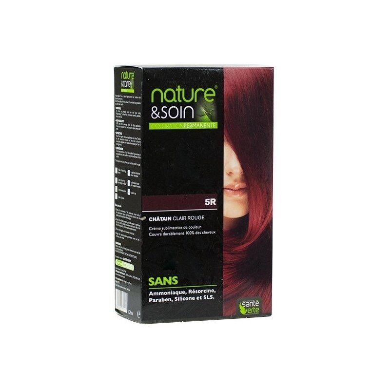 Santé Verte - Nature & soin coloration permanente 5r - châtain clair rouge - Chatain