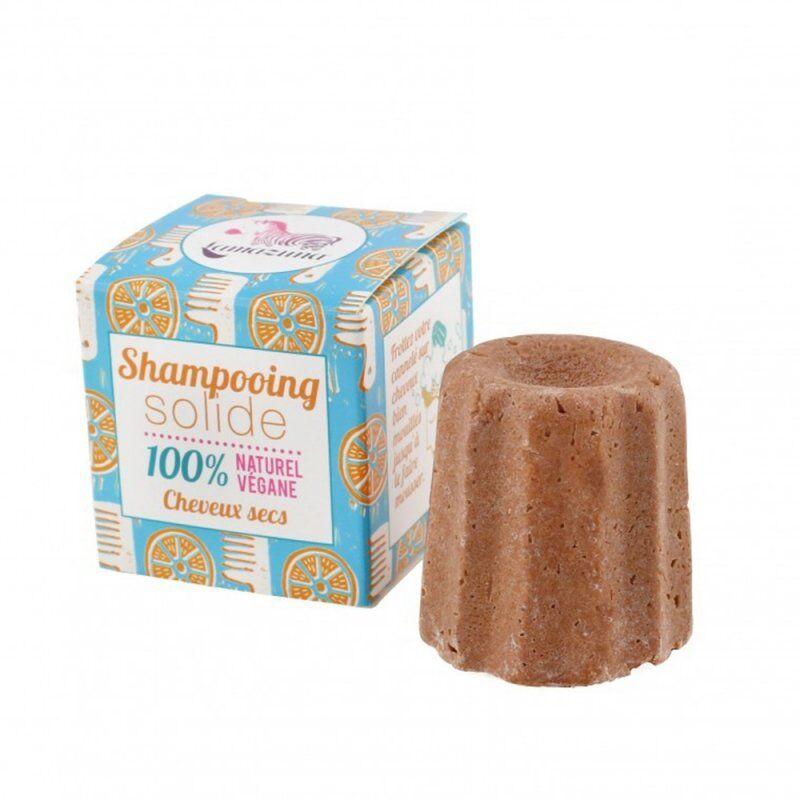 Lamazuna shampooing solide cheveux secs à l'orange et à l'huile d'argan 55g