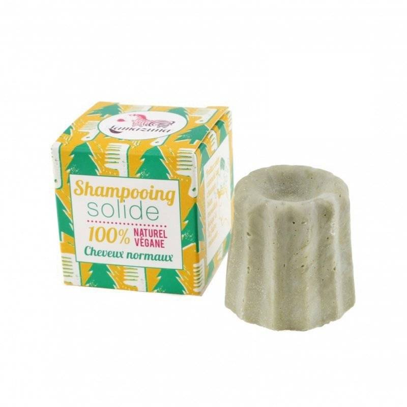 Lamazuna shampooing solide cheveux normaux au pin sylvestre 55g