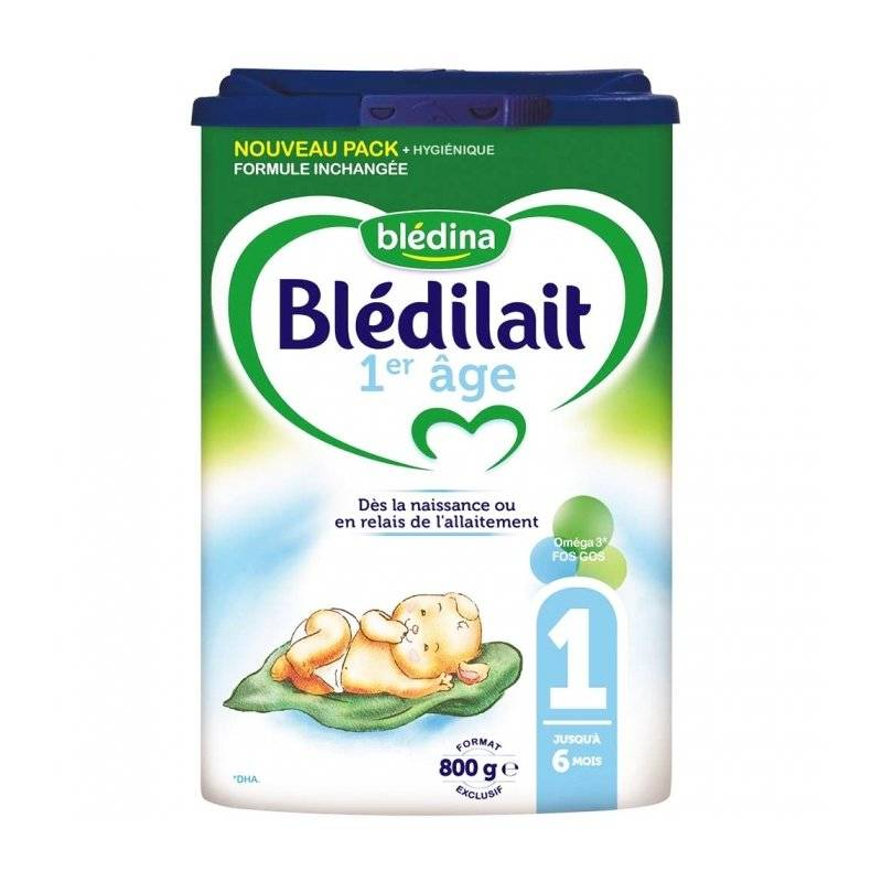 Blédina blédilait 1er Âge 800g