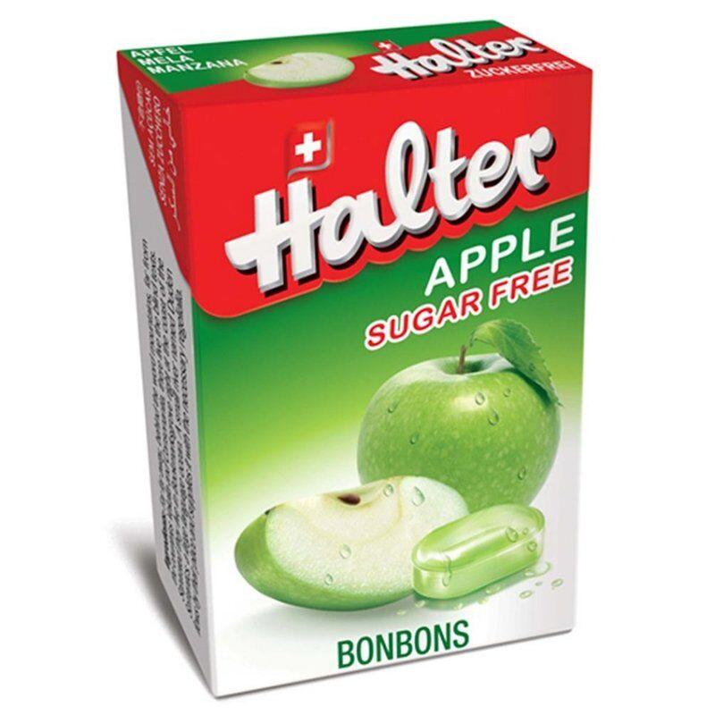 Halter bonbons pomme sans sucre 40g