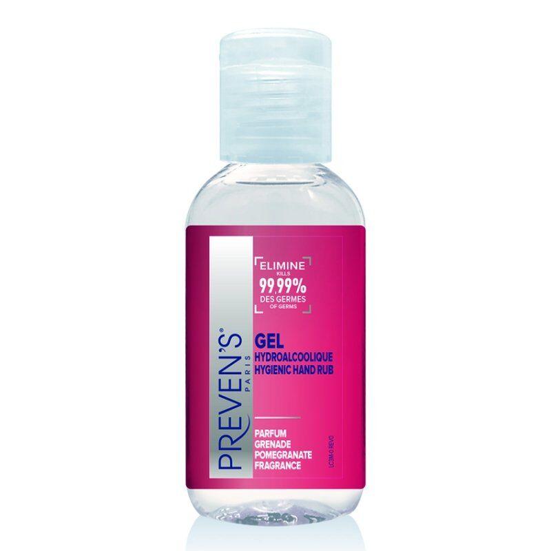 Preven's gel hydroalcoolique parfum grenade 25ml