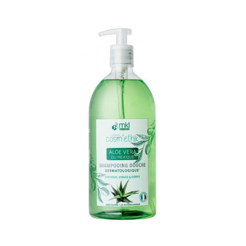 Mkl Green Nature cosm'ethik shampooing douche aloe vera bio 1l