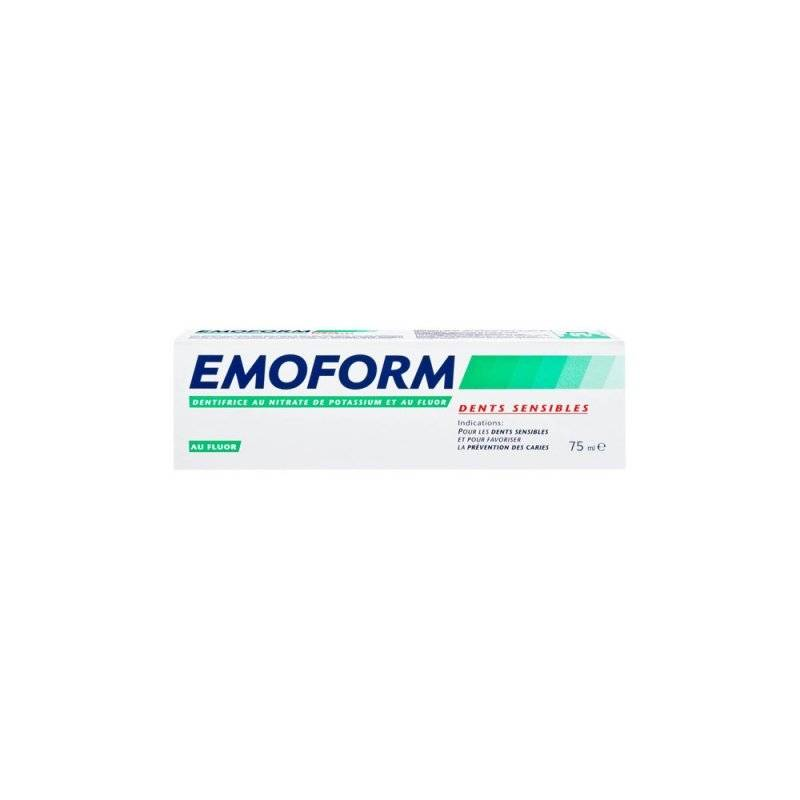 Emoform dentifrice dents sensibles fluor 75ml