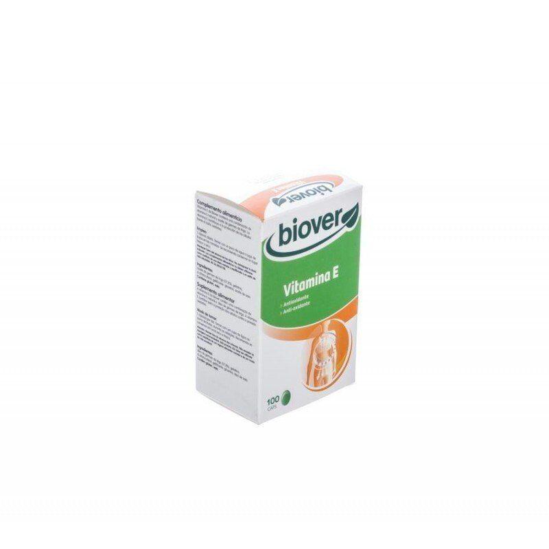 Biover - Vitamine e capsule 45iu 100 huile de germes de ble