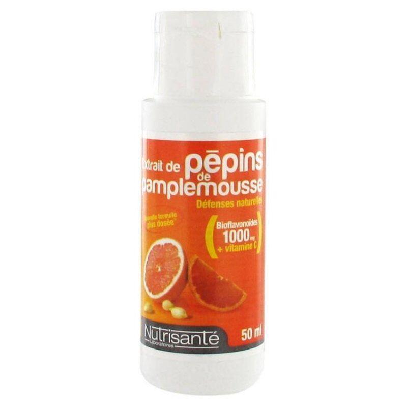 Nutrisante extrait pepins de pamplemousse 1000mg 50ml