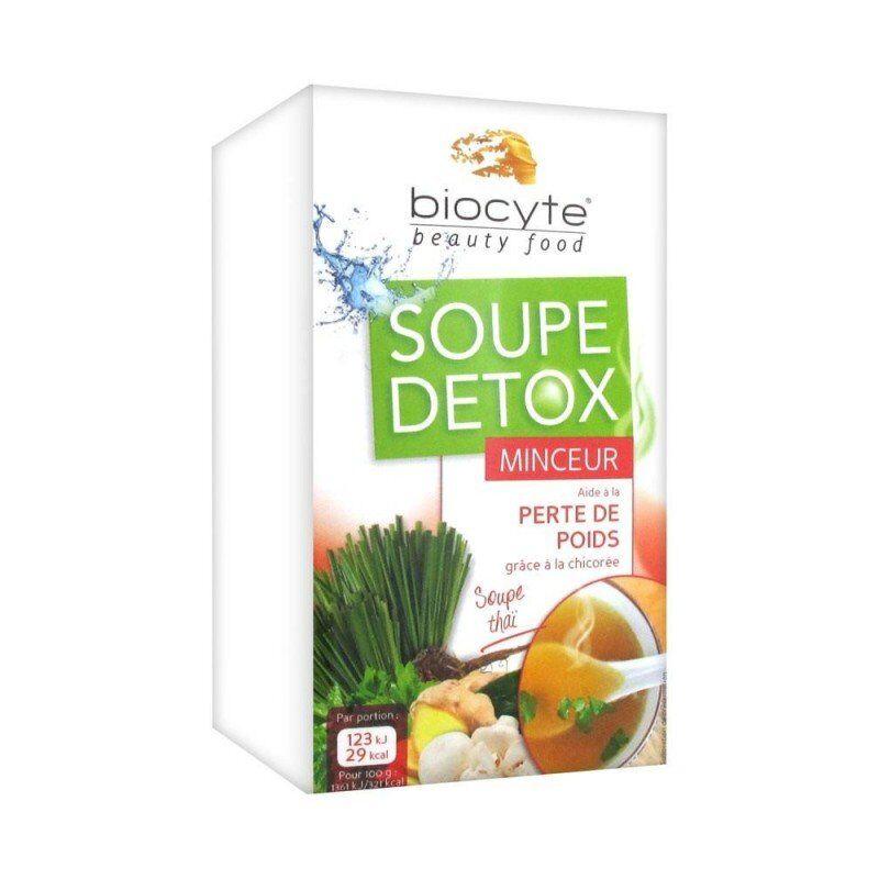 Biocyte soupe detox minceur 16x9g