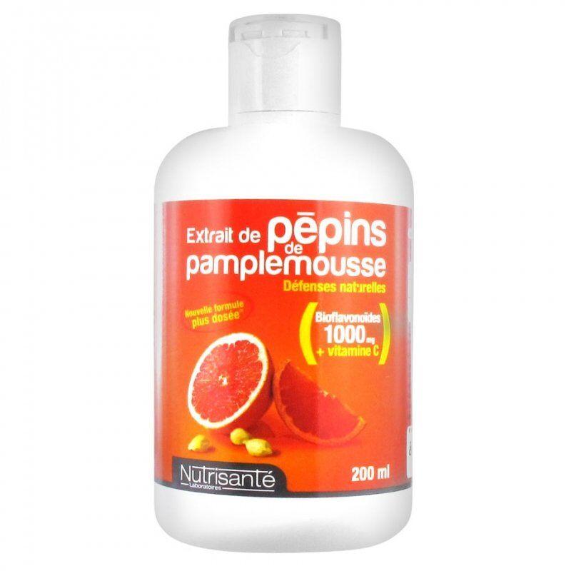 Nutrisante extrait pepins de pamplemousse 200ml