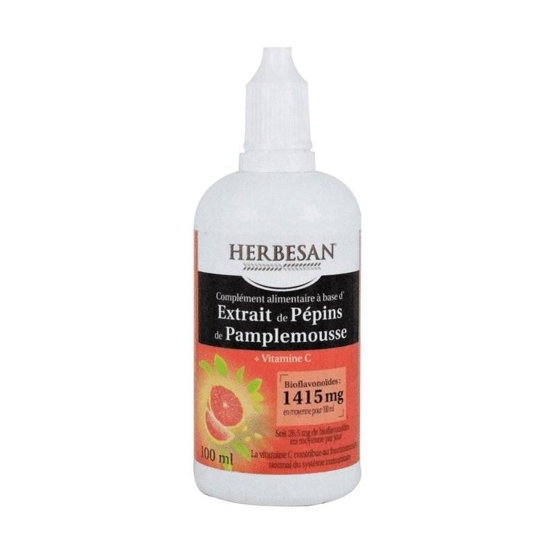 Herbesan extrait de pépin de pamplemousse 1415mg 100ml