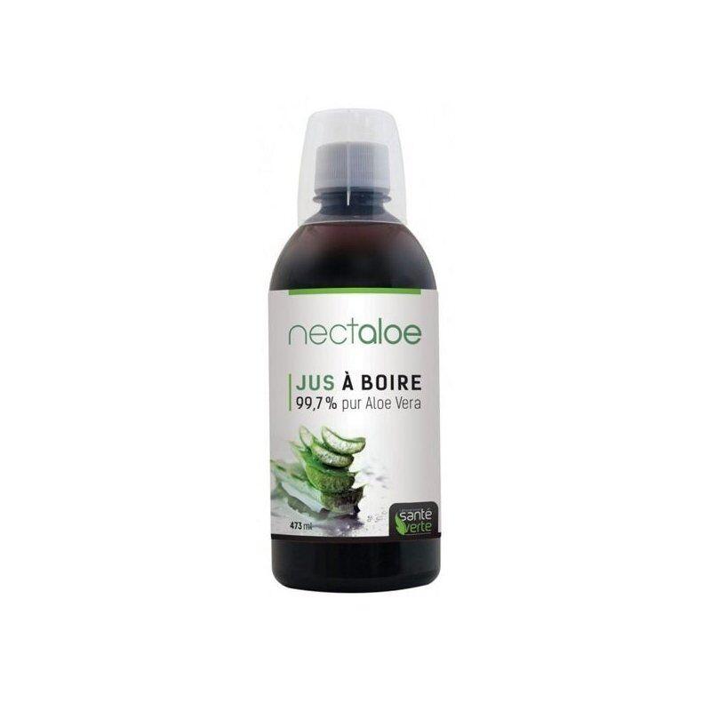 Santé Verte nectaloe 99,7% pur jus aloe vera 473 ml