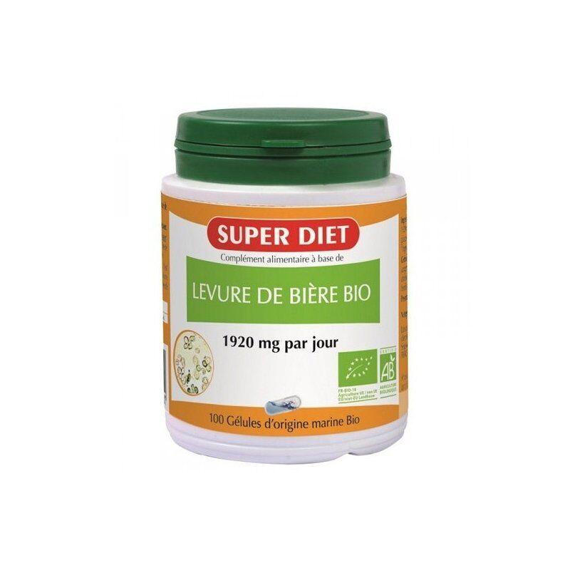 Superdiet levure de biere bio 100 capsules