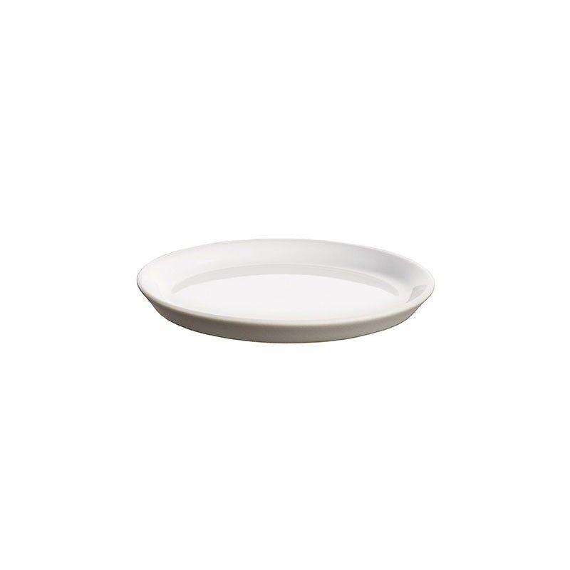 ALESSI Set of 4 Mini Plates - Tonale Light Grey - Alessi