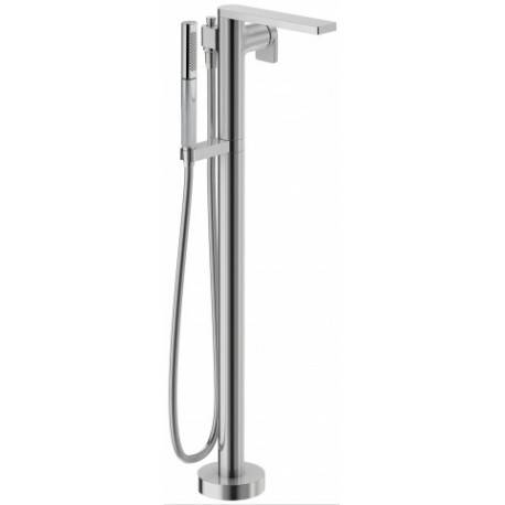 Jacob Delafon Mitigeur bain / douche thermostatique chromé - alimentation par le sol - Composed - JACOB DELAFON