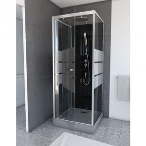 Aurlane Cabine de douche complète - carrée - 90 x 90 x 220 cm - Study - AURLANE - Publicité