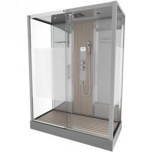 Aurlane Cabine de douche complète - rectangle - 75 x 150 x 215 cm - Fuzzy XXL - AURLANE - Publicité