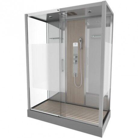 Aurlane Cabine de douche complète - rectangle - 75 x 150 x 215 cm - Fuzzy XXL - AURLANE