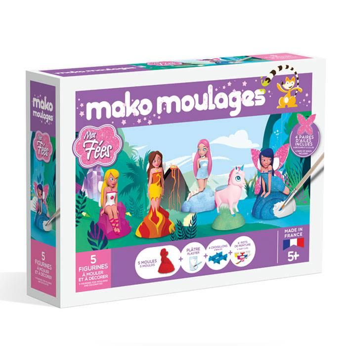 MAKO CREATIONS Mako moulages - 5 figurines - Mes Fées