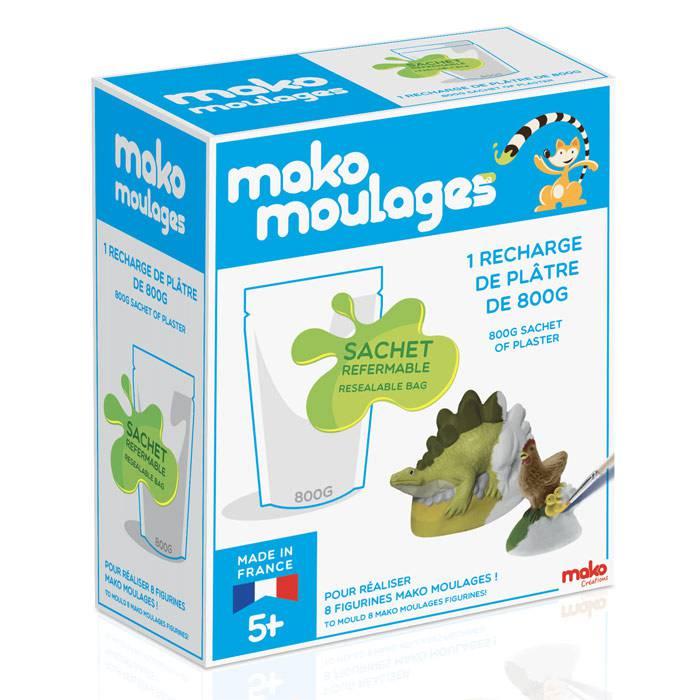 MAKO CREATIONS Mako moulages - Recharge plâtre 800 gr
