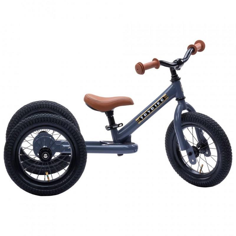 TRYBIKE Draisienne-Tricycle acier Anthracite - Trybike