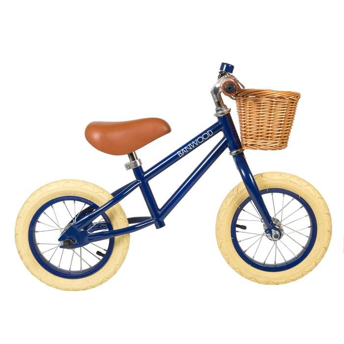 BANWOOD Draisienne First Go - Bleue Navy - Banwood