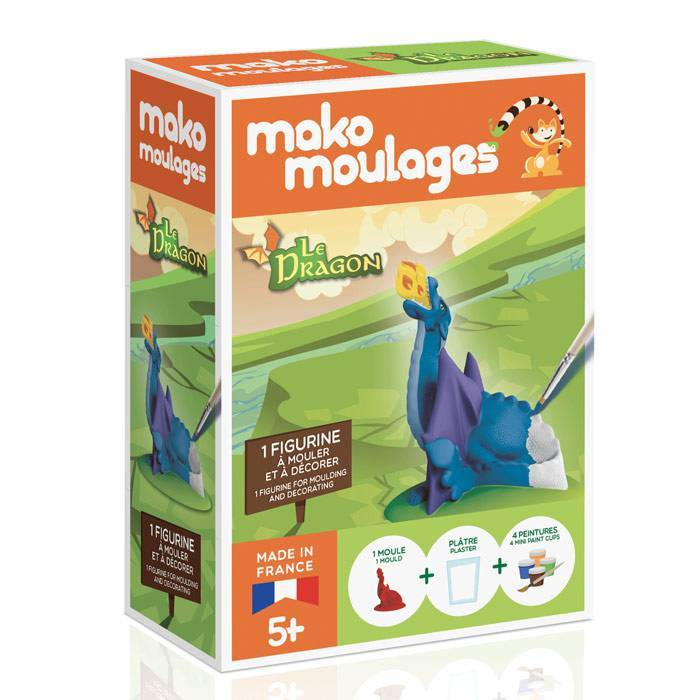 MAKO CREATIONS Mako moulages - Mon dragon