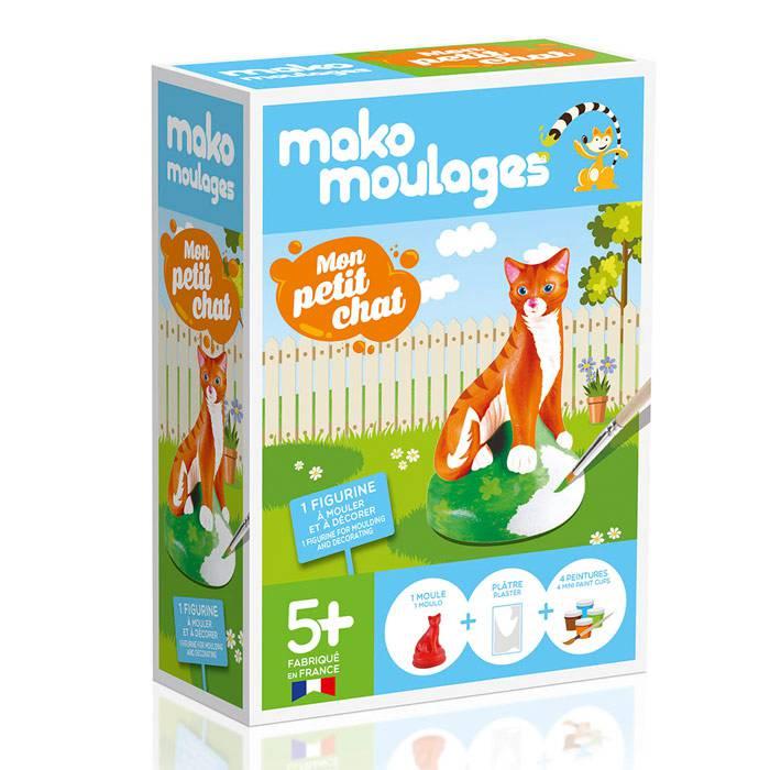 MAKO CREATIONS Mako moulages - Mon petit chat