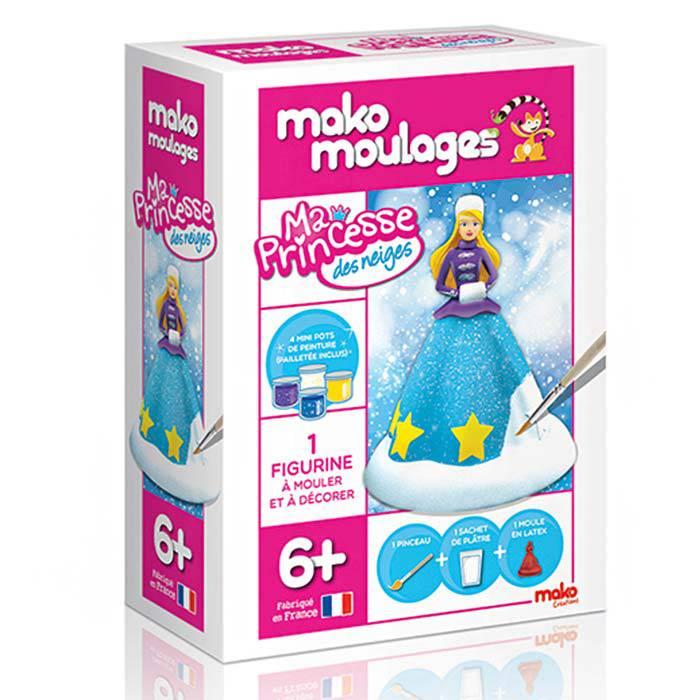 MAKO CREATIONS Mako moulages - Ma princesse des neiges