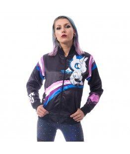 Veste Cupcake Cult I Hate You Unicorn : Taille - XL, Couleur - Noir