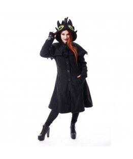 Manteau Cupcake Cult Fury : Taille - S, Couleur - Noir