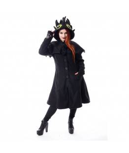 Manteau Cupcake Cult Fury : Taille - L, Couleur - Noir
