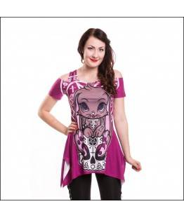 Top Cupcake Cult Occult Bunny : Taille - XL
