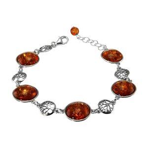 Trabbia Vuillermoz Bracelet argent et ambre arbre de vie - Bijoux Femme