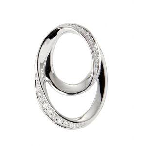 Trabbia Vuillermoz Pendentif Or Blanc 750 Diamant - Bijoux Femme