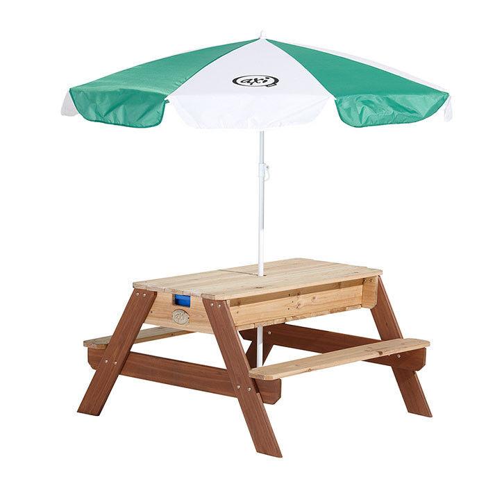 AXI Table de pique-nique et Bac à sable et eau