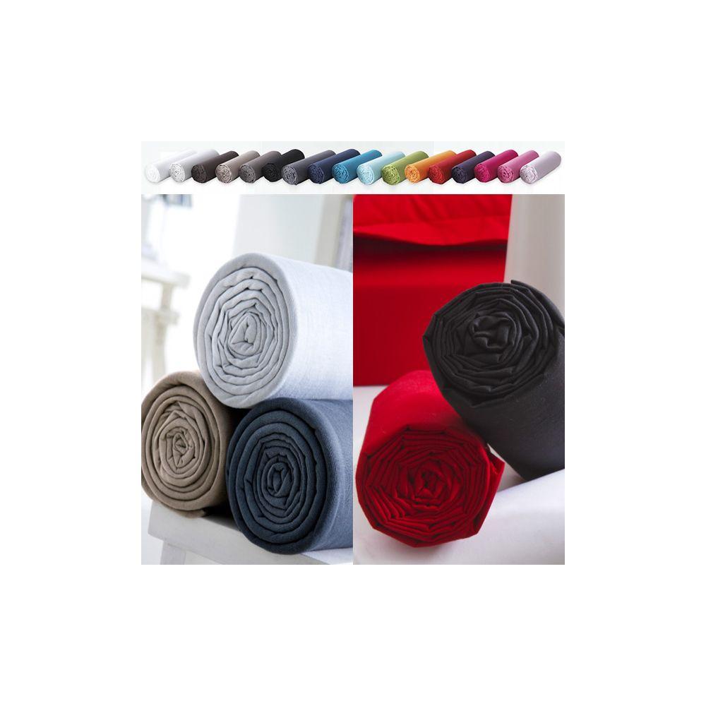 Drap housse Today 160x200 100% coton : Couleur - Jus de Myrtille