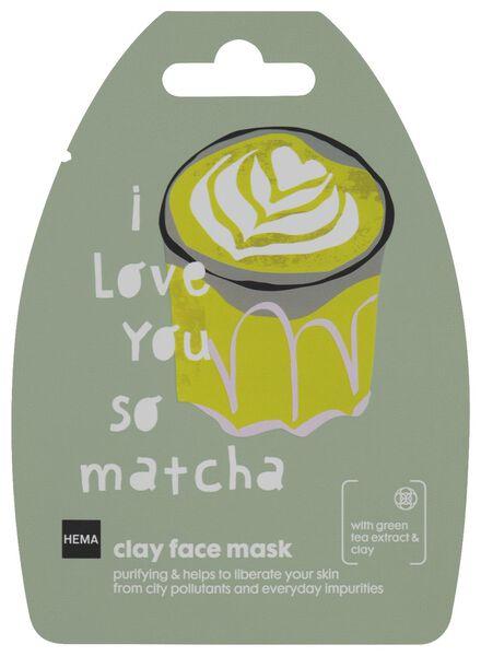 HEMA Masque Visage Argile Matcha - 10 G