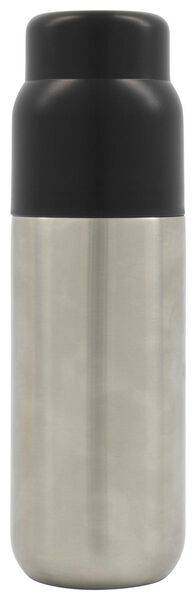 HEMA Bouteille Isotherme 500 Ml Inox/noir (noir)