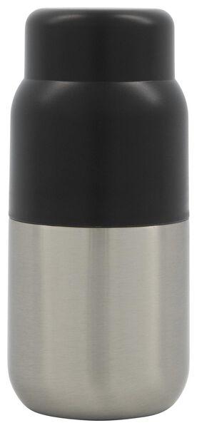 HEMA Bouteille Isotherme 250ml Inox/noir (noir)