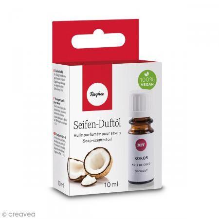 Rayher Huile parfumée pour savon - Noix de coco - 10 ml