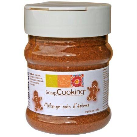 ScrapCooking Mélange pain d'épices 70 g