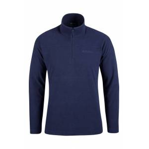 Mountain Warehouse Micropolaire gaufrée homme Norway - Bleu Marine