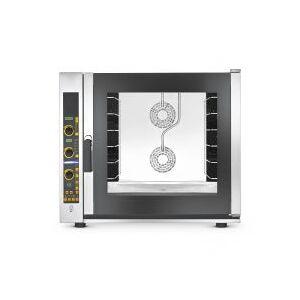 CHEFOOK Four pâtisserie professionnel électrique à contrôle digital 6 plaques 60x40 cm renforcé à convection avec vapeur CHF664.3EUD