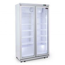 CHEFOOK Vitrine Réfrigérée Pour Boissons 1050 Litres +1 / +10°C