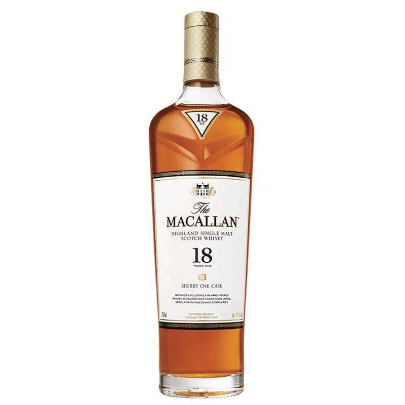 The Macallan Distillers The Macallan 18 Ans Sherry Oak Cask