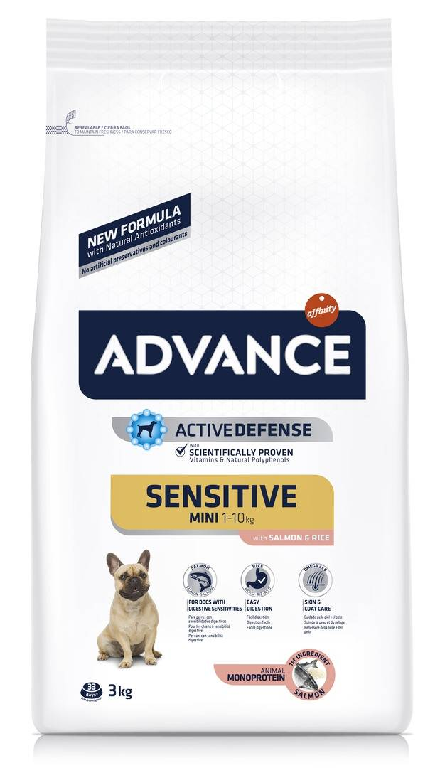 Advance Affinity Advance Chien Mini Sensitive Saumon & Riz