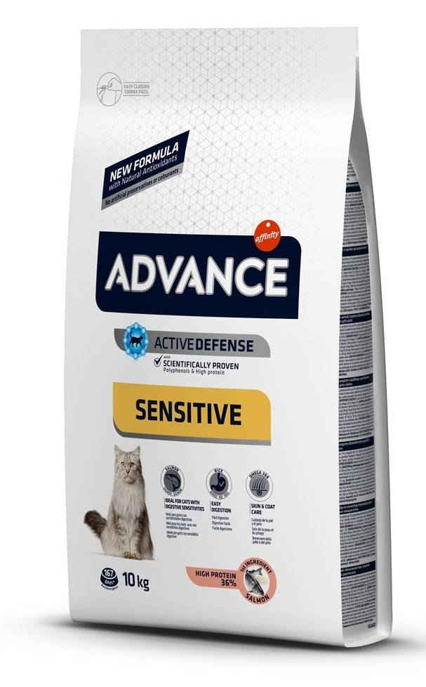 Advance Affinity Advance Chat Adulte Sensitive Saumon et Riz